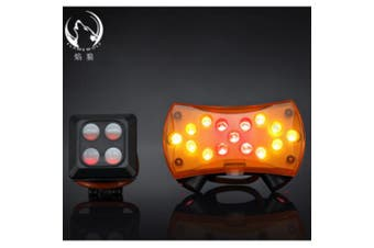 Bike Safety USB Rechargeable Wireless Control LED Front Light Bicycle Handlebar Lamp