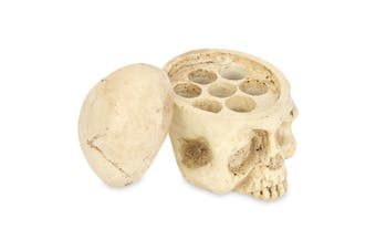 Crazy Hard Resin 7 Holes Tattoo Skull Head Holder Stand for Inks Pigment