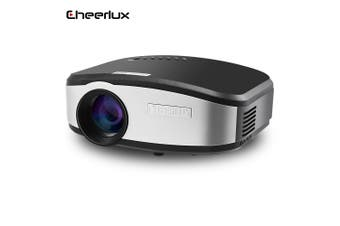 Cheerlux LED Projector 800 x 480 Pixels 1200LM Support DVB-T