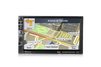 Rectangle 7021G Bluetooth GPS Car MP5 Player with Camera