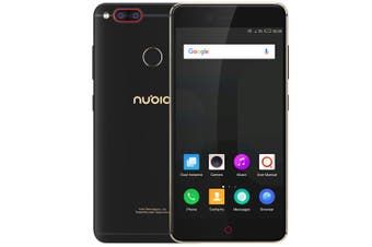 Nubia Z17 Mini 4G Smartphone 5.2 inch Android M Snapdragon 652 Octa Core 1.8GHz 4GB RAM 64GB ROM Fingerprint Scanner NFC 13.0MP Dual Rear Cameras