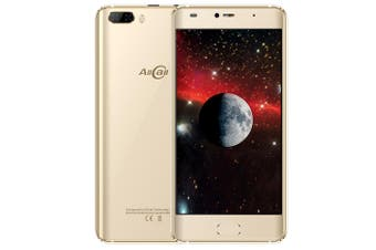 Allcall Rio 3G Smartphone 5.0 inch Android 7.0 MTK6580A Quad Core 1.3GHz 1GB RAM 16GB ROM GPS 3D Curved Glass Screen with Dual Rear Cameras