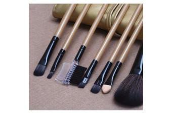 Makeup Brushes with Cosmetic Brush Bag 7pcs