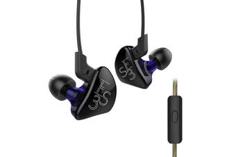 KZ KZ - ES3 In-ear Detachable HiFi Music Earphones with Hybrid Driver Units(WITH LINE CONTROL)