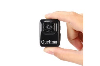 Quelima R3 Mini Camera 1080P HD Camcorder with 8 Night Vision LED