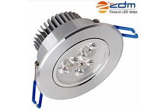 ZDM 3X2W 400 - 450LM Silveryled Ceiling Lamps Warm / Cool / Natural White AC85-265V