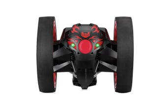 Paierge 2.4GHz Wireless Remote Control Jumping Car-Black