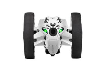 Paierge 2.4GHz Wireless Remote Control Jumping Car-White