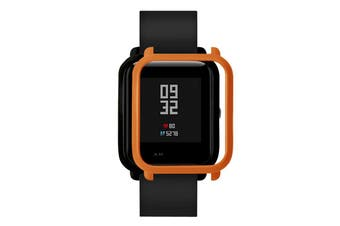 TAMISTER Replacement Frame Shell Protective Cover Case for AMAZFIT Youth Edition Smart Watch-Orange