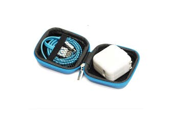 Hot Mini Zipper Hard Headphone Storage Bag