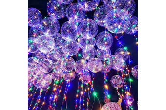 Bobo Balloon LED String Light Battery Powered for Christmas Party Decoration(2 X AA BATTERY POWERED)