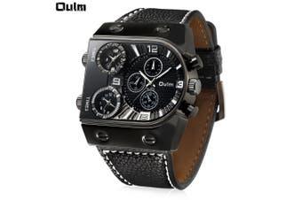 Oulm 9315 Multi-function 3 Movt Quartz Men Watch