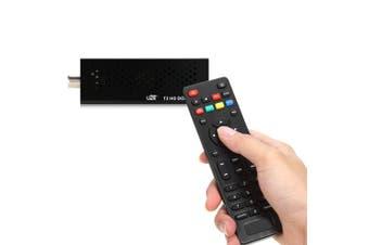 DVB T2 U2C T2 HD Stick TV Remote Control MSTAR7T01 + RT836 Ship-Black