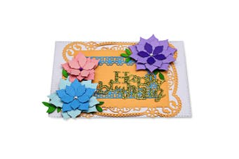 Greeting Card Cover Patterns Embossing Cutting Dies for DIY Scrapbook Album Paper Card Making