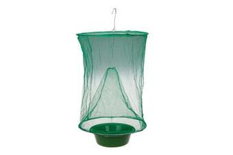 Flies Flytrap Zapper Cage Net Trap-Green