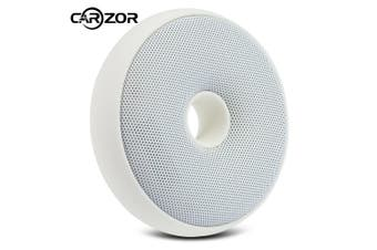 CARZOR Portable Donut-shaped Air Purifier Germicidal Electric Deodorizer-White