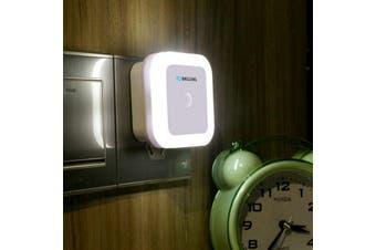 BRELONG Intelligent Light Control Induction Square Night Lamp