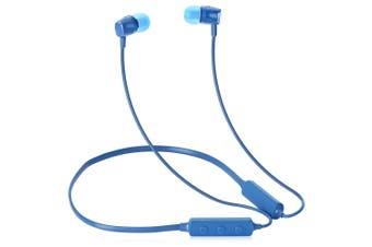 MEIZU Lite Bluetooth Magnetic Headphone Neckband Sweatproof Sports Earbuds-Blue
