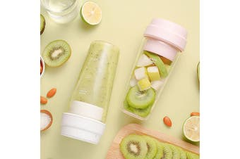 17PIN 400ML Portable DIY Fruit Juicing Extractor Cup Magnetic Outdoor Travel Bottle from Xiaomi youpin