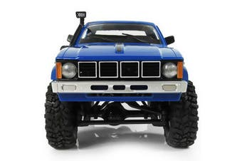 WPL 1/16 4WD 2.4G 2CH Military Truck Buggy Crawler Off Road Car DIY KIT-Blue
