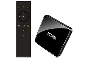 MECOOL KM3 Android 9.0 Voice Control TV Box