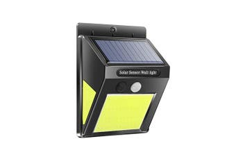 BRELONG Solar LED Wall Lamp IP65 Waterproof Three-Sided Lighting Motion Sensor-