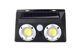 BRELONG Waterproof LED Solar Power Outdoor Wall Light-Black