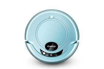 S320 Smart Robot Vacuum Cleaner with Mopping Cloth-Light Blue