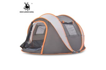 HUILINGYANG 3 - 4 Person Automatic Tent Windproof Rainproof Camping