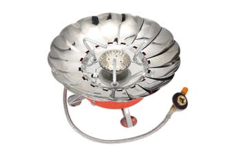 Windproof Stove Cooker Cookware Gas Burners for Camping Picnic Cookout BBQ