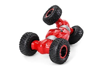 JJRC Q70 Twister Double-sided Flip Deformation Climbing Remote Control Car-Red