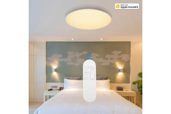 Yeelight Intelligent App Remote Mobile Control Dustproof Design Upgrade Version Smart LED Ceiling Light-Pure White Version