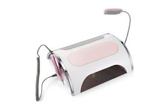 5 in 1 Multi-purpose Electronic Nail-beauty Manicure Machine Set-White