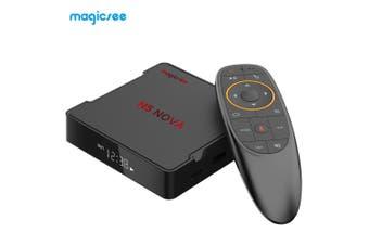 MAGICSEE N5 NO - VA 4K TV Set-top Box 64 Bits 4GB RAM 64GB ROM Dual-band WiFi Voice Control-Black