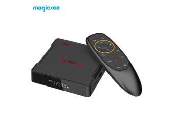 MAGICSEE N5 NO - VA 4K TV Set-top Box 64 Bits 2GB RAM 16GB ROM Dual-band WiFi Voice Control-Black