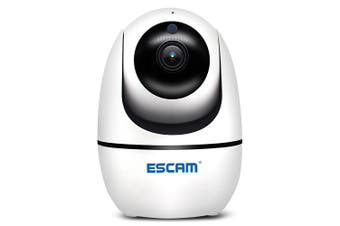 ESCAM H.265 1080P PTZ WiFi Infrared IP Camera for ONVIF-White