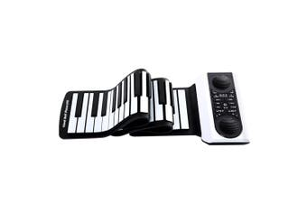 Vvave Sound Floating Hand Roll Electronic Piano-61 Keys-Black