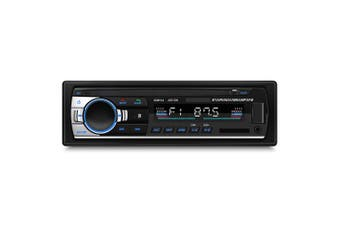 Bluetooth Auto MP3 Player Multimedia System 87.5 - 108.0MHz FM Radio Remote Control-Black