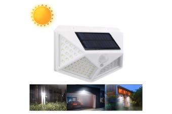 100 LED Solar Powered Garden Lamp-White