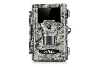 Outlife K691 Trail Hunting Camera 12MP Mega Pixel Image Resolution IP67 Waterproof Wildlife Monitoring