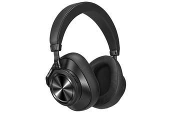 Bluedio T7 Plus Bluetooth Headphone ANC Headband Wireless Headset-Black