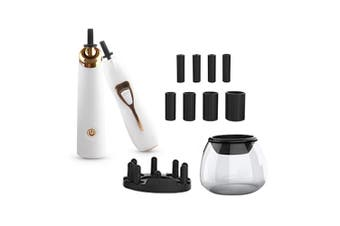 Electric Makeup Brush Cleaner Set Centrifugal Dry Machine for Healthy Facial Skin