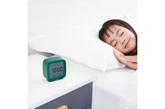 Xiaomi youpin Mini Multifunction Bluetooth Alarm Clock Temperature / Humidity Monitor Night Light-Sea Green