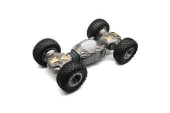 JZL Wireless Remote Control Car Four-wheel Drive Mini-distortion Toy-S-Cloudy Gray