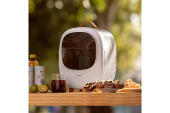 Baseus Zero-degree Space Desktop Mini Refrigerator-White