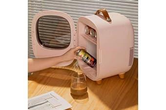 Baseus Zero-degree Space Desktop Mini Refrigerator-Pink