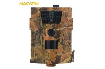 NACATIN ht - 001B Digital Wildlife Trail Camera 30PCS Infrared LEDs IP65 Waterproof 1080P Image