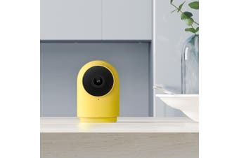 Latest Version Aqara G2H Smart Camera 1080P Gateway Edition Zigbee Linkage Smart Devices Compatiable with Homekit App-Yellow
