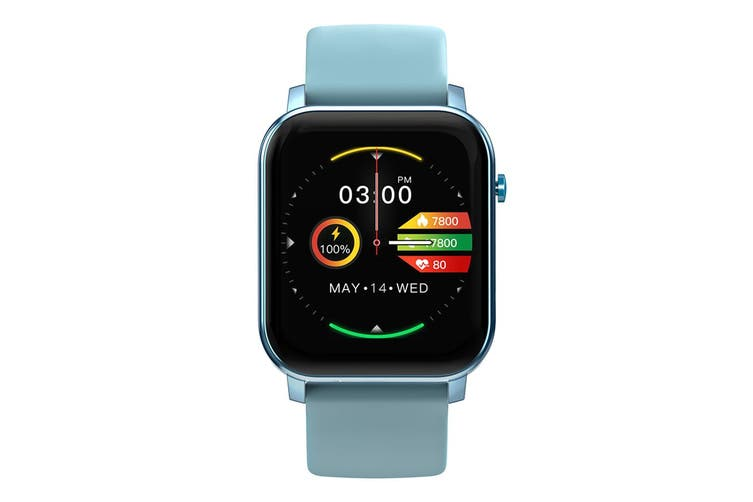 Kospet GTO Smart Watch IML Metal Case Blood Oxygen 24h Heart Rate Monitor Weather Forecast IP68 Waterproof Smartwatch