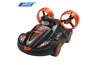 JJRC Q86 4WD Amphibious 2 in 1 RC Drift Car Speedboat All-round Control Summer Outdoor Toy for Kids(Black Color)